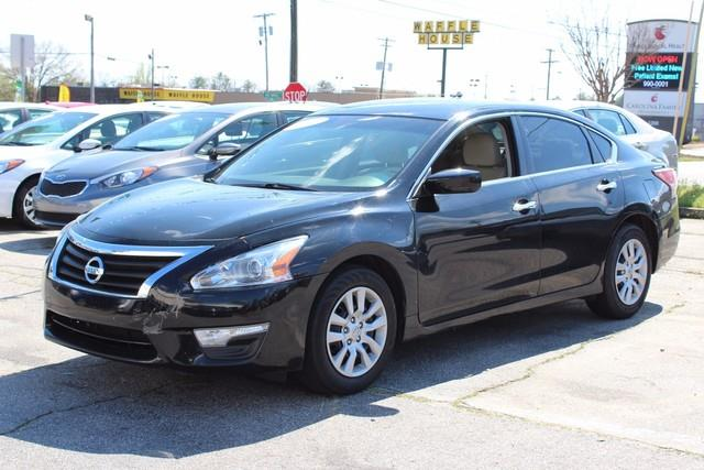 2014 NISSAN ALTIMA 4DR SDN I4 25 S black side impact beamsdual stage driver and passenger seat-