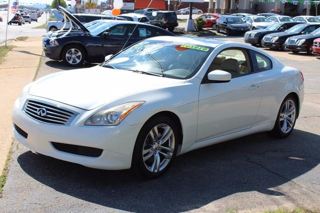 2008 INFINITI G37 2DR JOURNEY white driverfront passenger dual-stage advanced air bag system aa