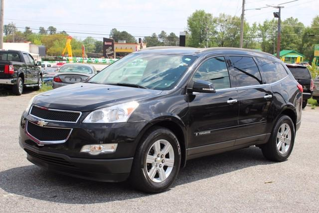 2009 CHEVROLET TRAVERSE AWD 4DR LT black daytime running lampstire pressure monitoring system d