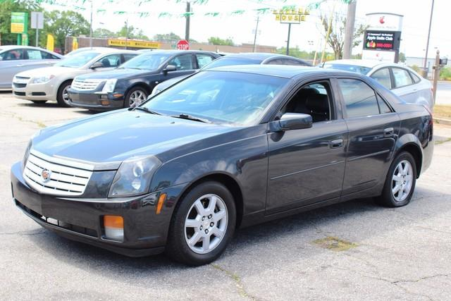 2005 CADILLAC CTS BASE 36 4DR SEDAN black air bags frontal and side-impact with head curtain d