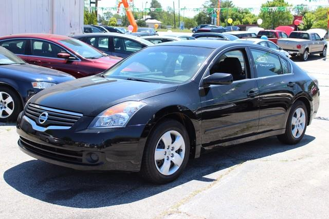 2008 NISSAN ALTIMA 4DR SDN I4 CVT 25 S black driver  passenger supplemental dual-stage front ai