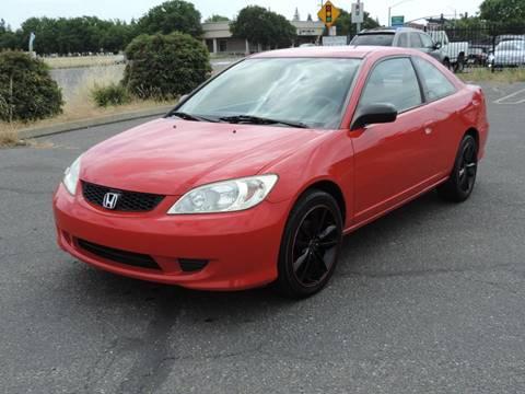 2005 Honda Civic for sale in Modesto, CA