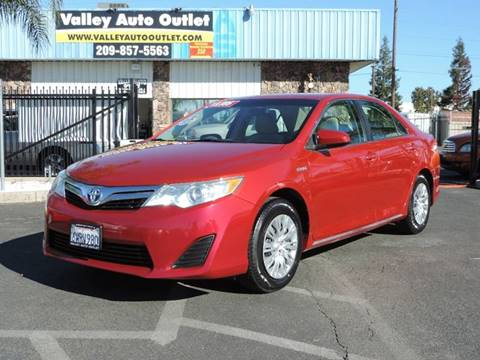 2012 Toyota Camry Hybrid for sale in Modesto, CA