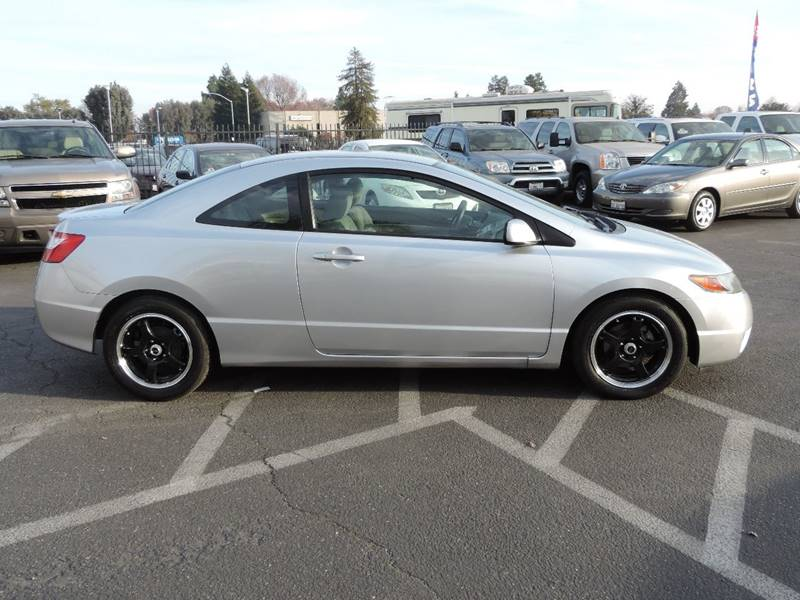 2007 Honda Civic LX 2dr Coupe (1.8L I4 5A) In Modesto CA - Valley ...