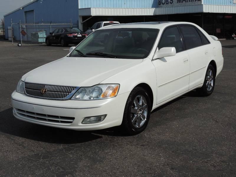 2002 Toyota Avalon XLS 4dr Sedan W/Bucket Seats   Modesto CA