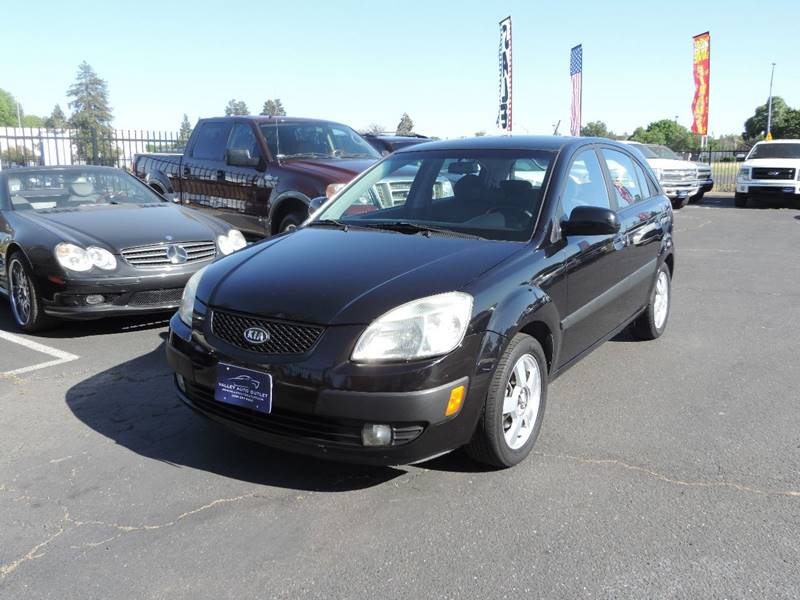 2006 Kia Rio5 Sx 4dr Wagon Wautomatic In Modesto Ca Valley Auto