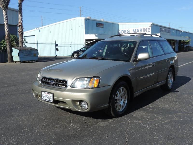 2003 Subaru Outback Awd H6 30 4dr Wagon In Modesto Ca Valley Auto