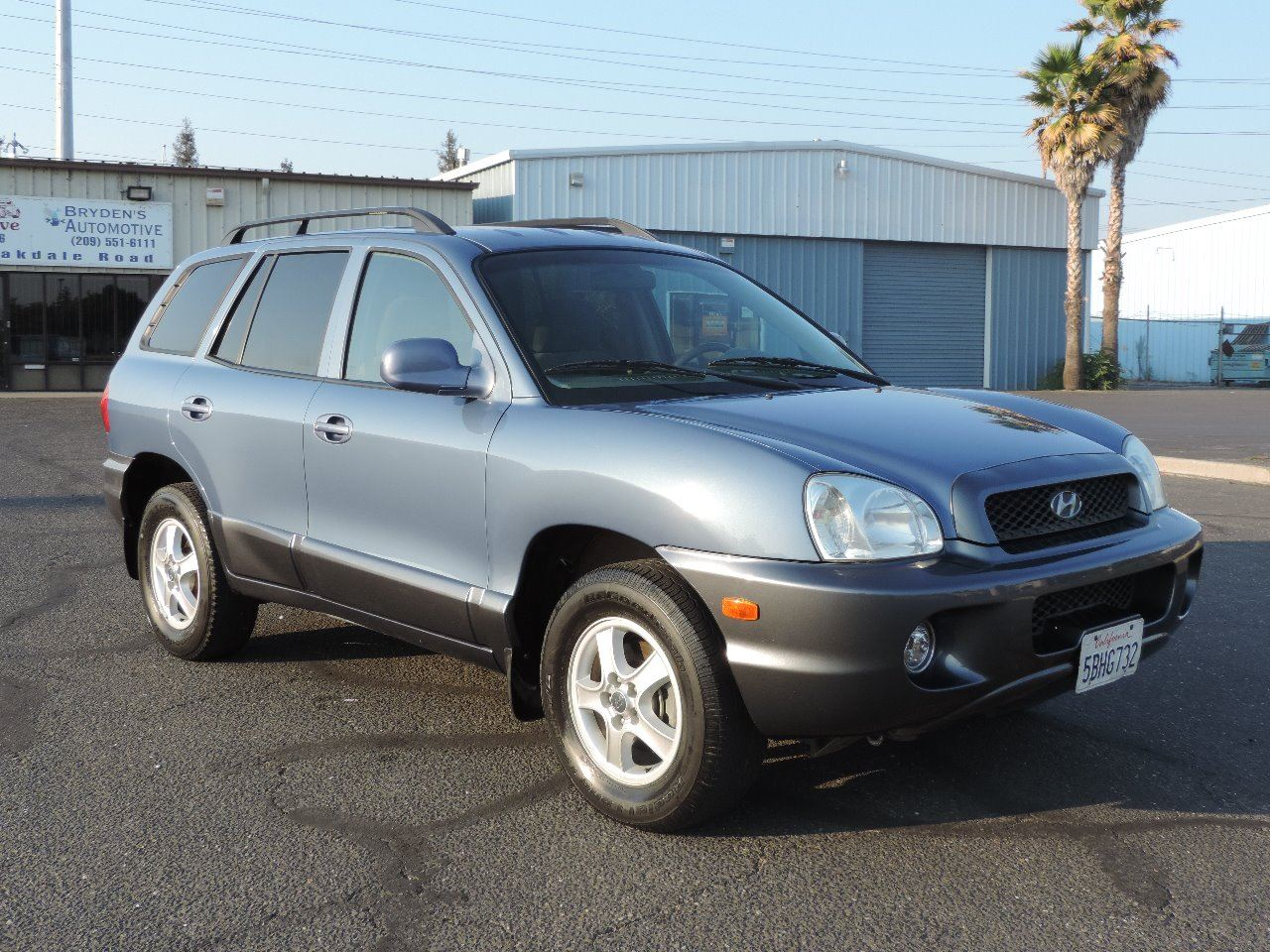 2003 hyundai santa fe gls 4dr suv in modesto ca valley auto outlet. Black Bedroom Furniture Sets. Home Design Ideas