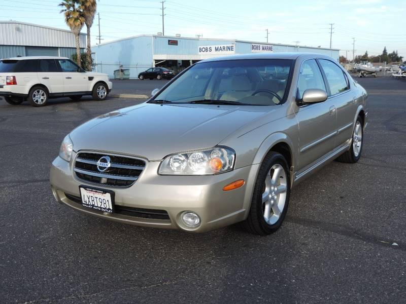 2003 Nissan Maxima Se 4dr Sedan In Modesto Ca Valley Auto Outlet