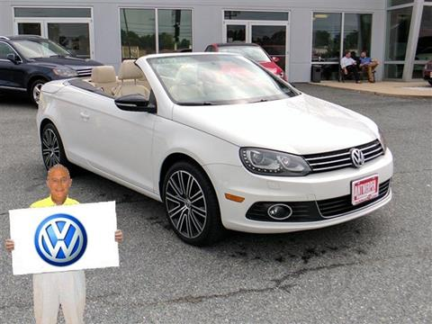 2014 Volkswagen Eos for sale in Pasadena, MD