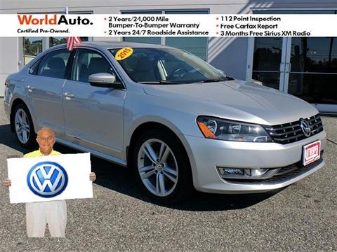 2015 Volkswagen Passat for sale in Pasadena, MD
