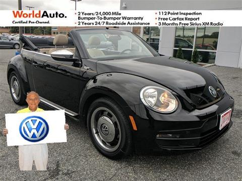 2013 Volkswagen Beetle for sale in Pasadena, MD