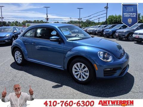 2019 Volkswagen Beetle for sale in Pasadena, MD