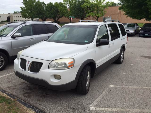 2006 Pontiac Montana SV6 for sale at UNIVERSITY FOREIGN CAR LLC in Bridgeton MO