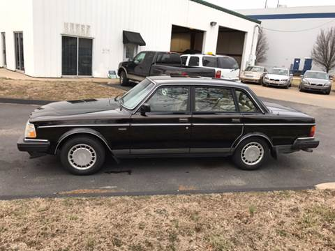 1989 Volvo 240 for sale at UNIVERSITY FOREIGN CAR LLC in Bridgeton MO