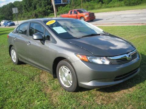 2012 Honda Civic for sale at Carland Enterprise Inc in Marietta GA
