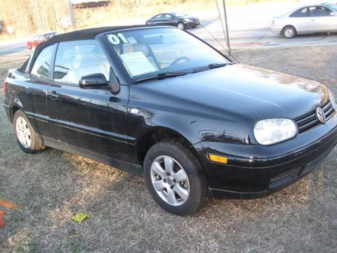 2001 Volkswagen Cabrio for sale at Carland Enterprise Inc in Marietta GA