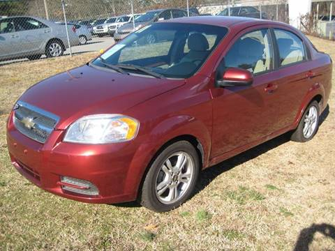 2011 Chevrolet Aveo for sale at Carland Enterprise Inc in Marietta GA