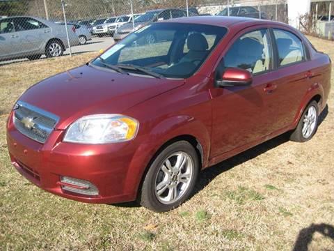 2011 Chevrolet Aveo for sale at Carland Enterprise Inc in Marietta GA