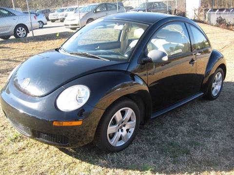 2007 Volkswagen New Beetle for sale at Carland Enterprise Inc in Marietta GA