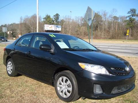 2011 Toyota Corolla for sale at Carland Enterprise Inc in Marietta GA