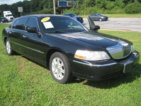 2011 Lincoln Town Car for sale at Carland Enterprise Inc in Marietta GA