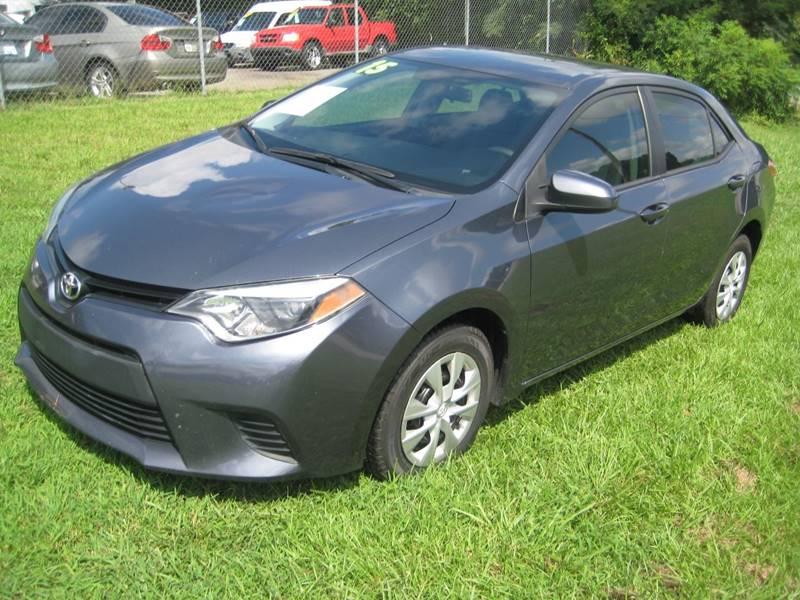 2015 Toyota Corolla for sale at Carland Enterprise Inc in Marietta GA
