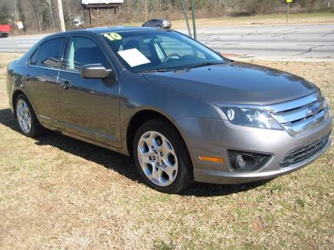 2010 Ford Fusion for sale at Carland Enterprise Inc in Marietta GA