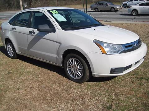 2010 Ford Focus for sale at Carland Enterprise Inc in Marietta GA