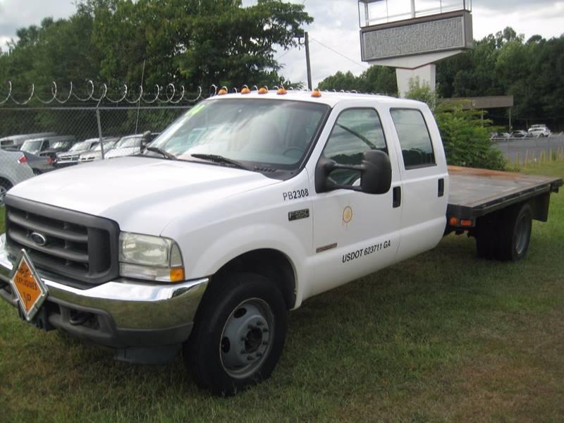 2004 Ford F-550 for sale at Carland Enterprise Inc in Marietta GA