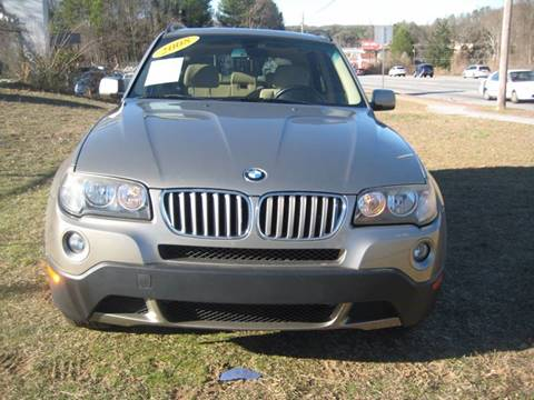 2008 BMW X3 for sale at Carland Enterprise Inc in Marietta GA