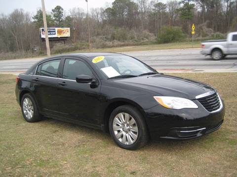 2012 Chrysler 200 for sale at Carland Enterprise Inc in Marietta GA