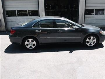 2007 Acura RL for sale at Carland Enterprise Inc in Marietta GA