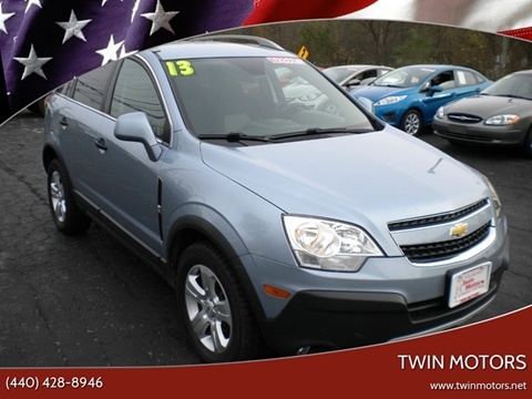 2013 Chevrolet Captiva Sport for sale in Madison, OH