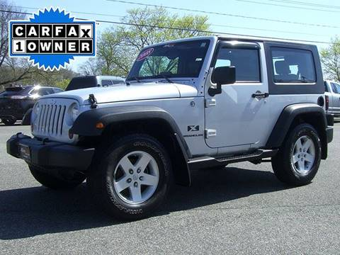 2008 Jeep Wrangler for sale in Feeding Hills, MA