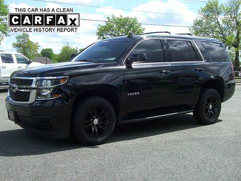 Used Chevy Tahoe >> 2015 Chevrolet Tahoe For Sale In Feeding Hills Ma