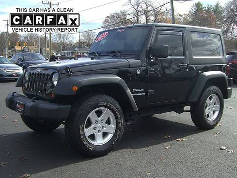 2012 Jeep Wrangler for sale in Feeding Hills, MA