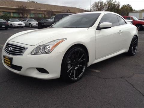 2010 Infiniti G37 Convertible for sale in Brentwood, CA