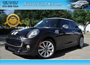 2014 MINI Hardtop for sale in Dallas, TX