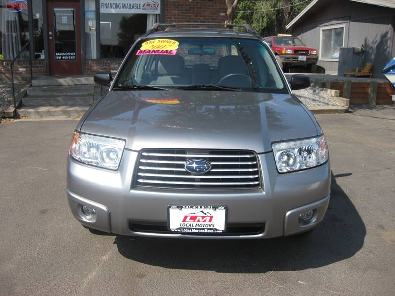 2007 Subaru Forester AWD 2.5 X 4dr Wagon (2.5L F4 5M) - Bend OR