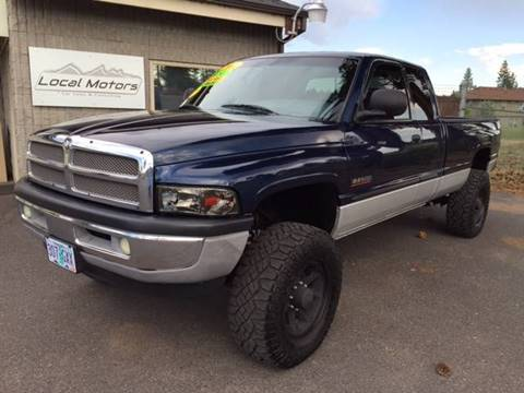 2001 Dodge Ram Pickup 2500 for sale at Local Motors in Bend OR