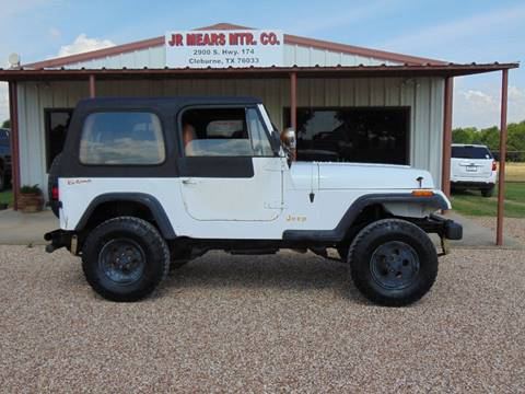 1995 Jeep Wrangler for sale in Cleburne, TX