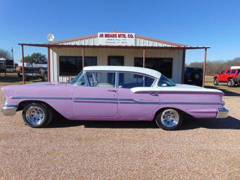 1958 Chevrolet Biscayne for sale in Cleburne, TX