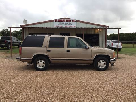 1996 GMC Yukon for sale in Cleburne, TX
