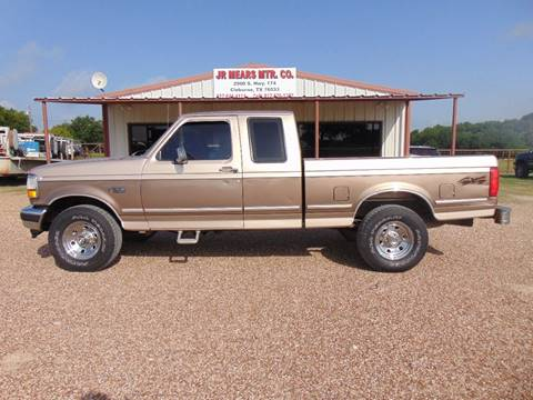 1993 Ford F-150 for sale in Cleburne, TX