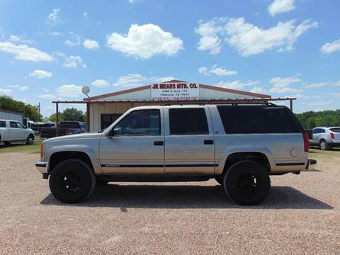 1999 GMC Suburban for sale in Cleburne, TX