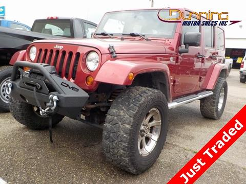 2013 Jeep Wrangler Unlimited for sale in Cambridge, OH