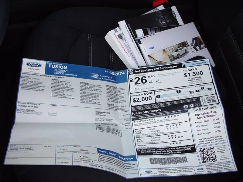 2014 Ford Fusion SE 4dr Sedan - Germantown WI