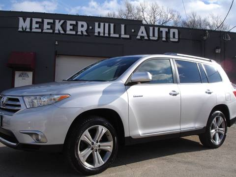 2012 Toyota Highlander Limited for sale at Meeker Hill Auto Sales in Germantown WI