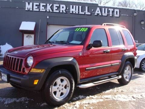 2006 Jeep Liberty Sport for sale at Meeker Hill Auto Sales in Germantown WI